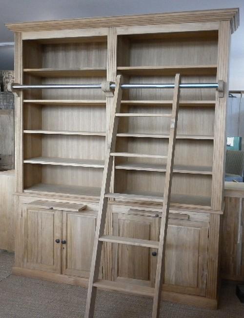 Bibliotheque vitrine la maison du teck meuble et - La maison du teck ...