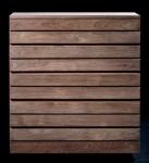 Chevet teck 3 tiroirs 10011