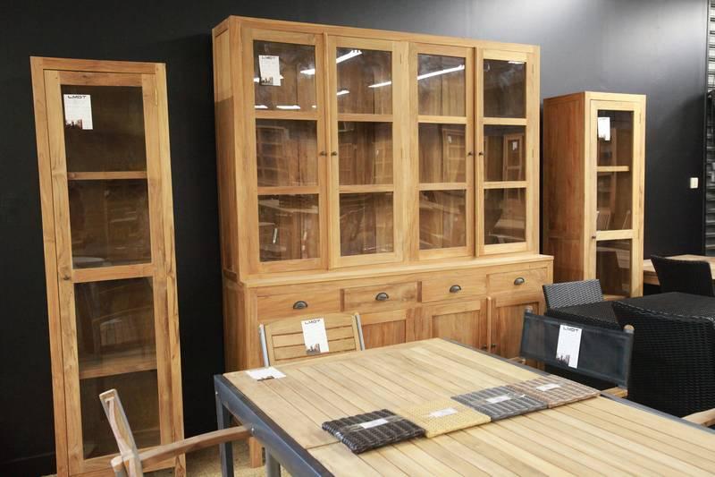 Show room la maison du teck normandie manche is re la maison du teck - Bibliotheque en teck ...