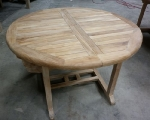 Table ronde a allonges 11508
